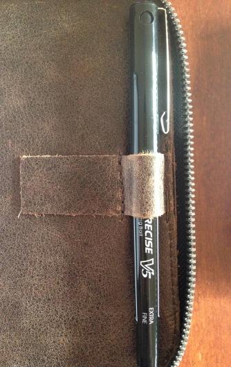 Pen loop detail
