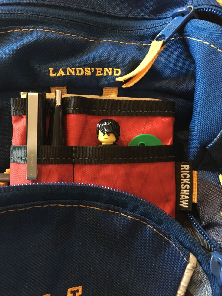 Red with Lego