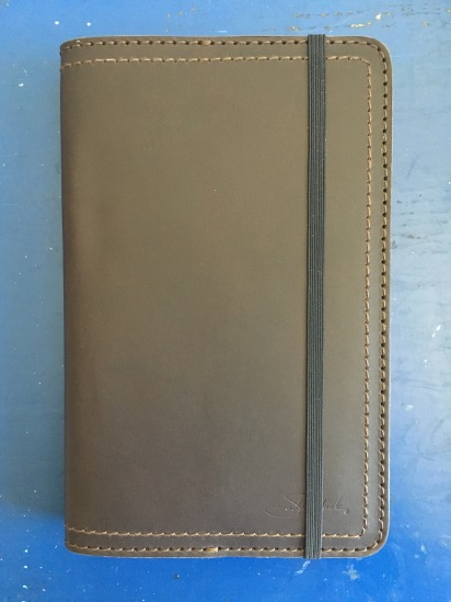 sale retailer c4582 78d23 Moleskine Leather Cover from Saddleback | Words on the Goods